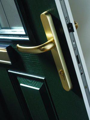Door Finishes - Locking Detail