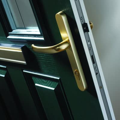 Door Finishes - Locking Detail